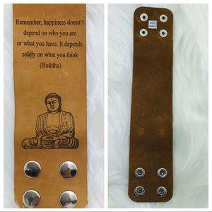 Jewelry - Buddha | Leather Bracelet